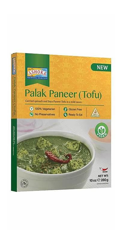 Paneer Palak Tofu Ashoka
