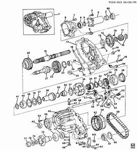 O  T 89 Chevy Blazer Transfer Case