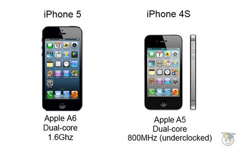 iphone processor iphone 5 vs iphone 4s how the specs compare