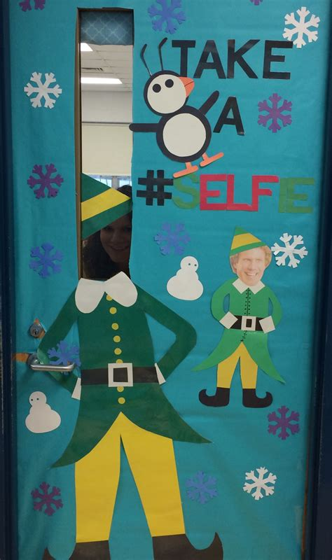 school door christmas decorating ideas door ideas selfie buddy the education
