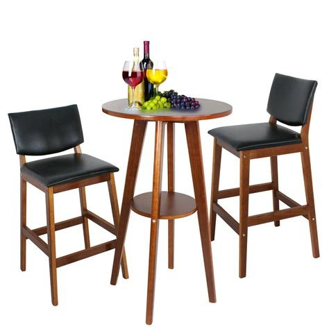 pub table set  piece bar stools dining kitchen furniture counter height chairs ebay