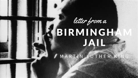 letters from a birmingham jail letter from a birmingham by martin luther king 23321   letter from a