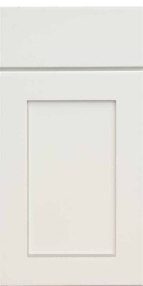 corner display with glass doors white shaker on demand