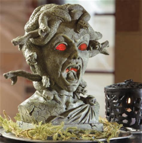 Motion Sensor Decorations by Medusa Animated Bust Decorations And