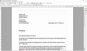 Kündigungsfrist Ohne Mietvertrag : k ndigung mietvertrag vorlage download ~ Lizthompson.info Haus und Dekorationen