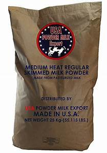 Medium Heat Regular Skimmed Bulk Milk Powder Made From Pasteurized Milk Products United States