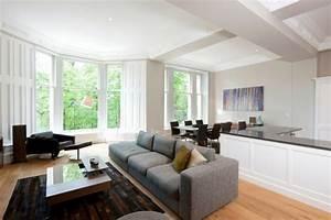 parquet fonc salon decoration mobilier meubles meubles With tapis design avec table pour manger dans le canapé