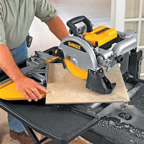 Dewalt Tile Saw Manual by Dewalt D24000 Tile Saw Contractors Direct