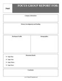Estimate Sheet Templates Focus Report Report Template