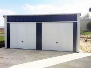 Garage Pour Voiture : garages m talliques simple double avec auvent vous ~ Voncanada.com Idées de Décoration