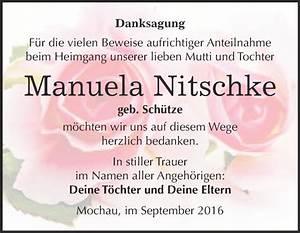 Super Sonntag Wittenberg : traueranzeigen von manuela nitschke ~ Watch28wear.com Haus und Dekorationen