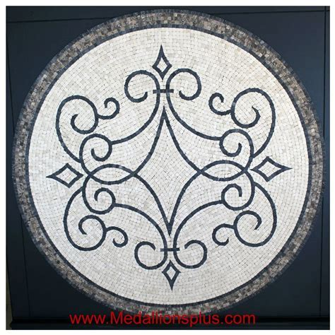 "Iron Works, 24"" Flooring Medallion   MedallionsPlus.com"