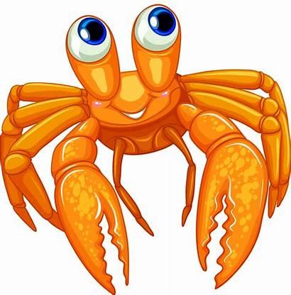 Sea Clipart Cartoon Creatures Crab Clip Ocean
