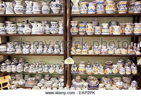 display of tiles inside santa ceramic tile shop in