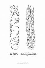Pillar Cloud Moses Fire Moises Craft Biblia Coloring Credit Larger Guardado Desde sketch template