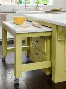 kitchen island pull out table 67 cool pull out kitchen drawers and shelves shelterness