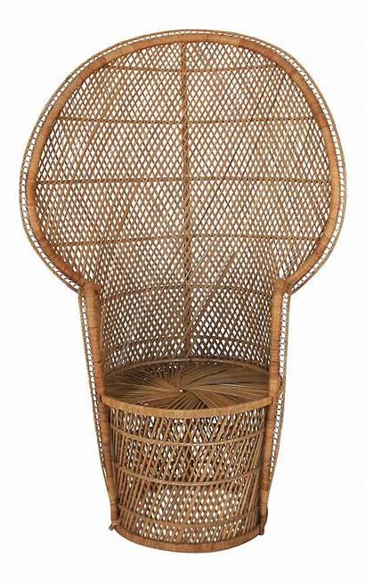 Peacock Chair Wicker Chairs Chairish