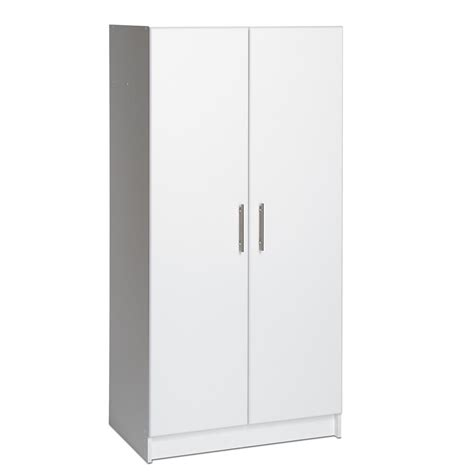 home storage cabinets with doors prepac 32 in elite storage cabinet wes 3264 the home depot