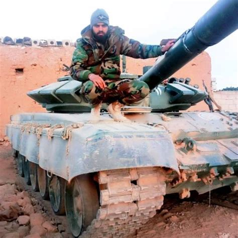 Marine commandos in Syria received the tanks T72B3
