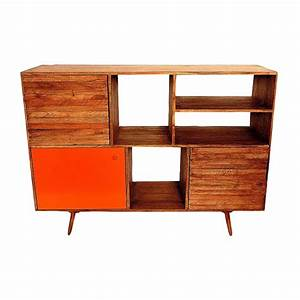 meuble kiruna orange baobab pas cher grandes marques With meuble orange