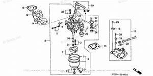 Honda Small Engine Parts Gx340 Oem Parts Diagram For