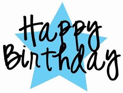 Birthday Happy Clipart Graphics Star Graphic Clip