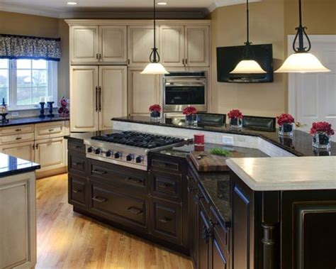 kitchen island stove top center island with stove home design ideas pictures