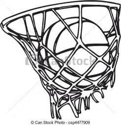 Basketball Line Drawing
