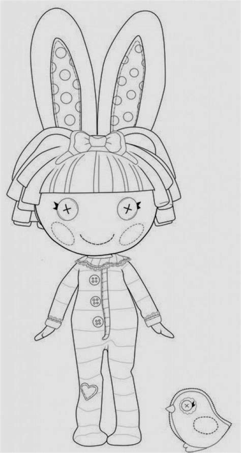 fun coloring pages lalaloopsy doll coloring pages
