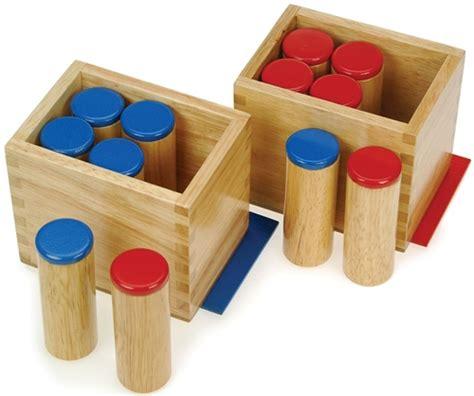 montessori materials sound cylinders