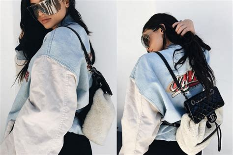 Get the Look: Kylie Jenner's Statement Shield Sunglasses ...