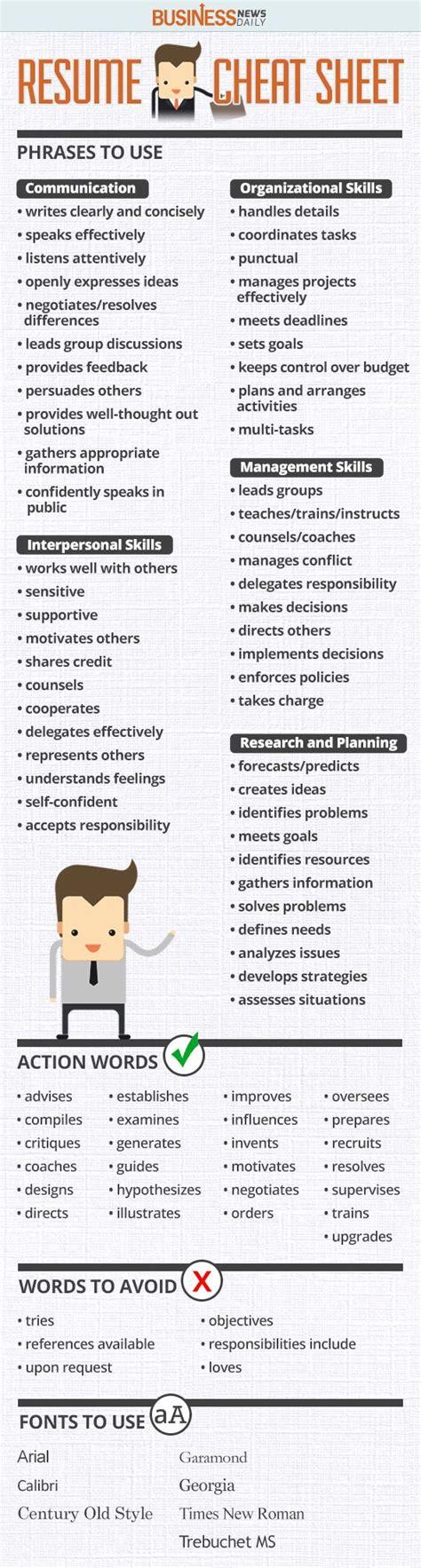 resume sheet infographic weknowmemes
