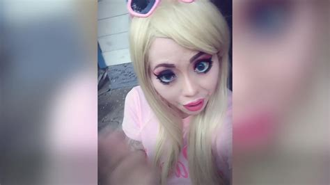 Woman Transforms Herself Into Human Barbie