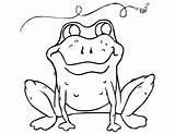 Coloring Frog Pages Toad Printable Tree Mask Crazy Template Cycle Sampletemplatess Bestcoloringpagesforkids 48kb 791px 1024 sketch template