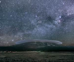 APOD: 2008 April 16 - A Protected Night Sky Over Flagstaff