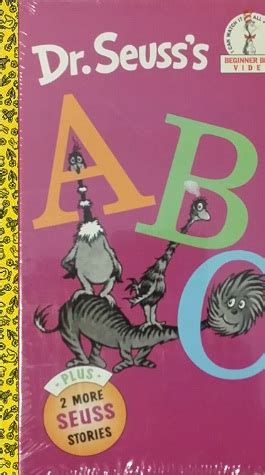 Opening To Dr Seuss's Abc And Other Stories 1998 Dvs Vhs