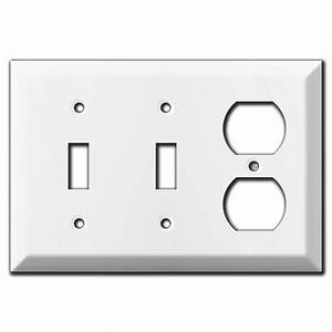 Deep 2 Vertical 2 Horizontal Toggle Switch Plates