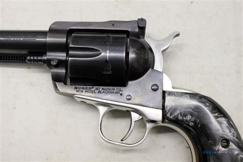 Ruger New Model Blackhawk .357 Magnum Revolver For Sale