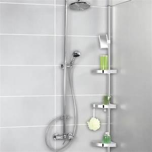 Etagere Angle Salle De Bain Telescopique : tag re de douche wenko salle de bain ~ Melissatoandfro.com Idées de Décoration
