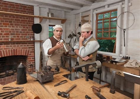 tinsmith shop  colonial williamsburg official history