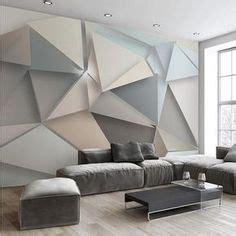 10 paredes de triángulos · 10 triangle walls Pared