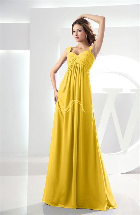 colors that go with light purple yellow casual empire zipper chiffon floor length ruching