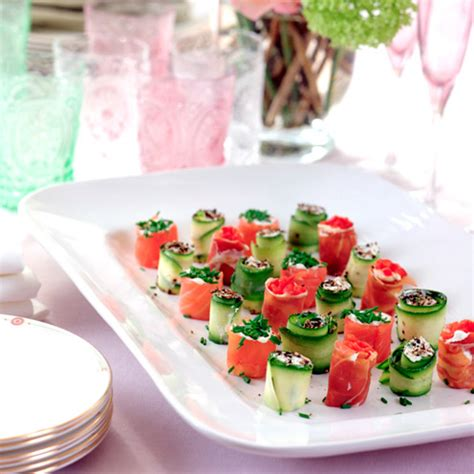 beautiful canapes recipes easiest canapés housekeeping