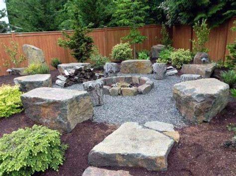 Backyard Pit Landscaping Ideas top 50 best pit landscaping ideas backyard designs