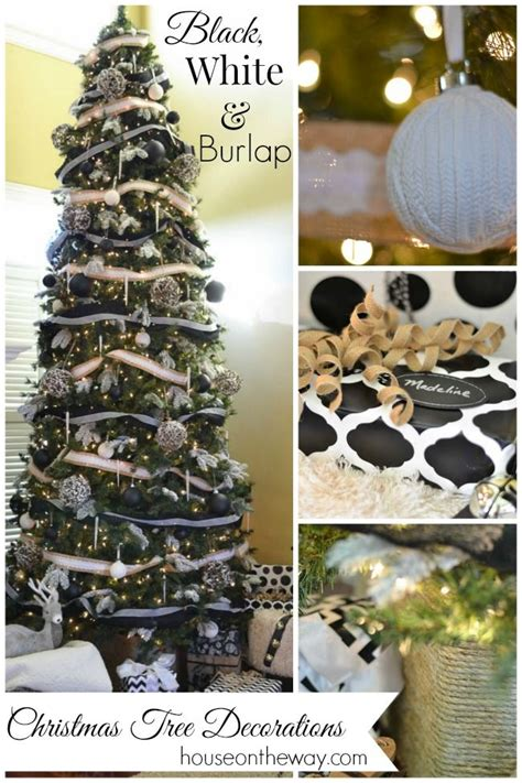 southern blue celebrations black white christmas ideas