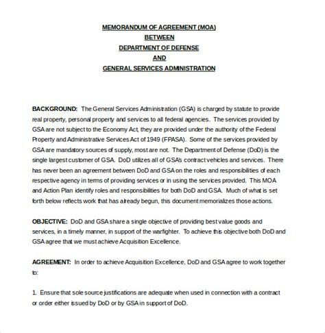 memorandum of agreement 10 memorandum of agreement templates word pdf free premium templates