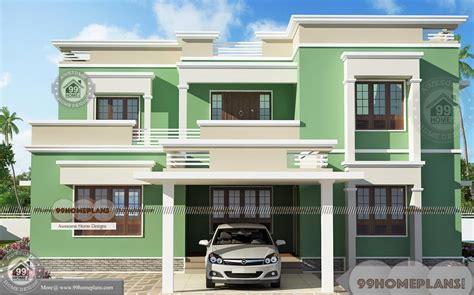 house plans     story flat type modern