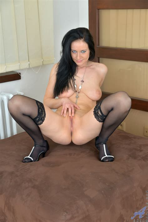 cock hungry mom enza next door rubs her twat until she cums granny seduction
