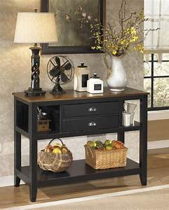 D580 59 ashley furniture owingsville dining room server for Dining room server