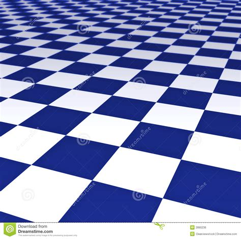 blue and white floor l blue and white floor tiles stock illustration